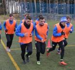 První trénink Táborska na Soukeníku