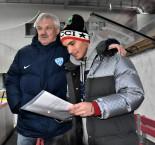 Táborští fotbalisté si to rozdali na zimním stadionu