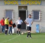 I. B třída: Sokol Sepekov - TJ Dolní Bukovsko 1:0
