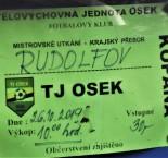 KP: TJ Osek - SK Rudolfov 2:2