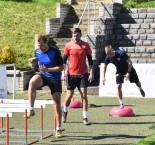 První trénink Táborska po nucené pauze