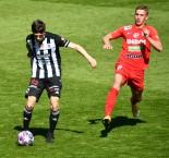 1. liga: SK Dynamo ČB - FC Zbrojovka Brno 0:2