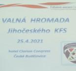 Krajské fotbalové volby v Č. Budějovicích
