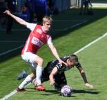 1. liga: SK Dynamo ČB - FK Pardubice 2:0