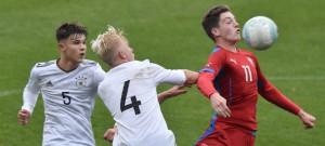 Česko U16 porazilo v Táboře německé vrstevníky.