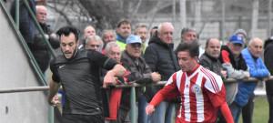 V zápase Olešníka s Blatnou se zrodila nejvyšší výhra ročníku - domácí zvítězili nad nováčkem 10:2. Unikající Lukáš Dudek dal dva góly.