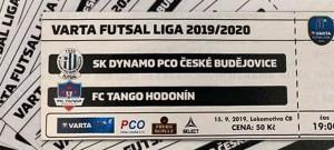 Po Spartě s nováčkem. PCO Dynamo přivítá ve futsalové Varta lize Hodonín
