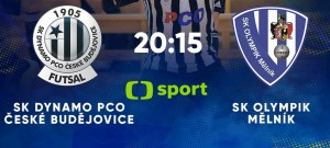 Futsalisté Dynama se těší na premiérový televizní zápas s Mělníkem
