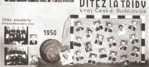 Tablo Kovosvitu, vítěze I. A třídy (dnešní KP).