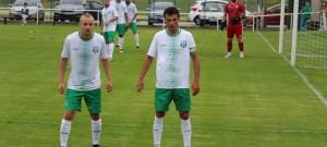 Autoři prvních dvou gólů Jankova Petr Klíma (vlevo) a Marek Kroneisl