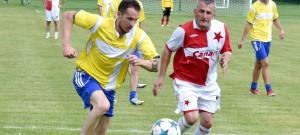 FC Vlachovo Březí dorost (ročník 87-89) - SK Slavia Praha stará garda 1:8