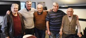 Bývalí hráči černobílých měli sraz na Střeleckém ostrově