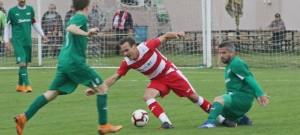 I. A třída: SK Lhenice - FK Lažiště 0:2
