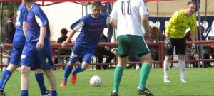 Utkání hvězd v Kaplici: KP tým 1999 vs. Divize tým 1999-2005 7:7