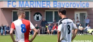 I. A třída: FC Mariner Bavorovice - SK Slavia Č. Budějovice 0:1