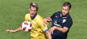 ČFL: FC Písek - SK Benešov 1:0