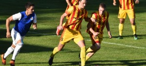 KP: FK Junior Strakonice - TJ Jiskra Třeboň 3:1